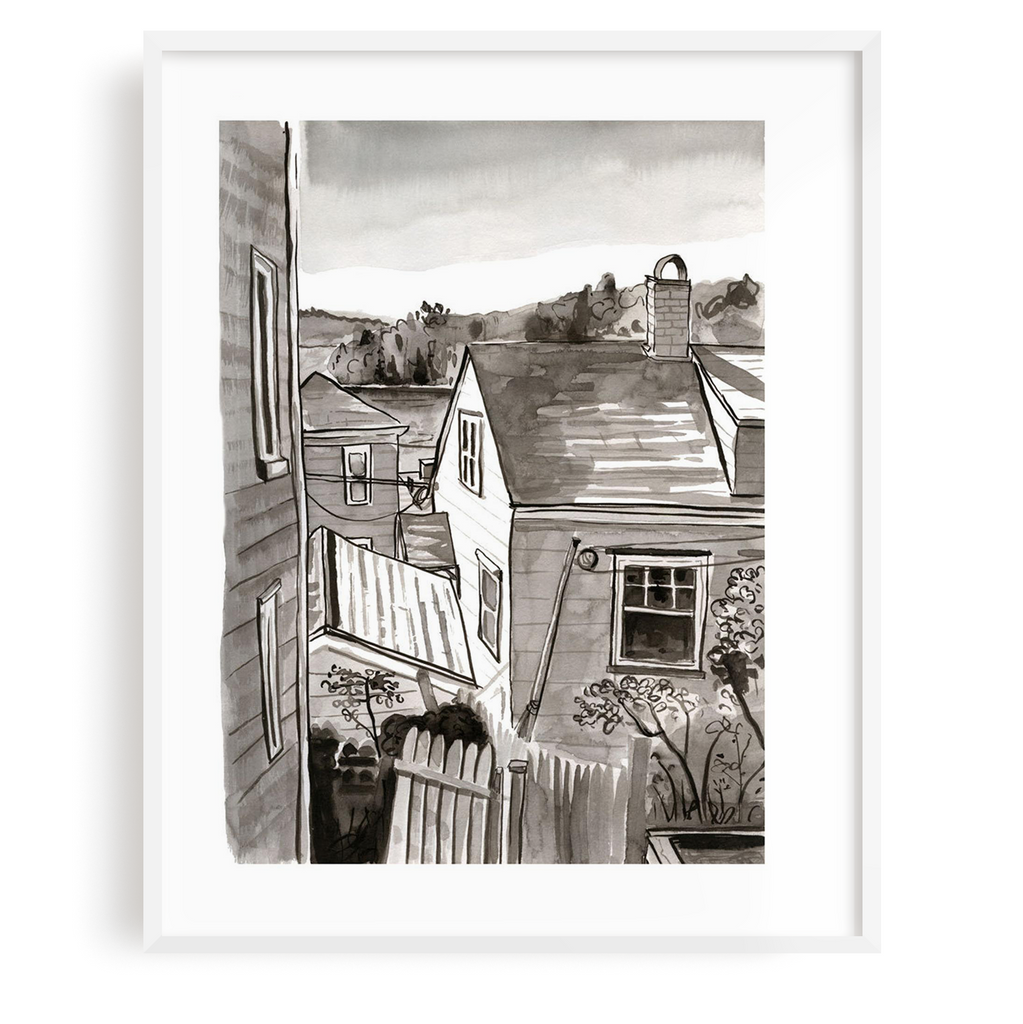 Lunenburg Harbour Print