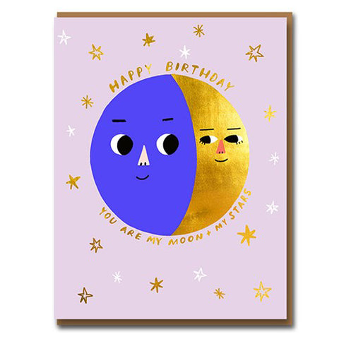 My Moon & Stars Card
