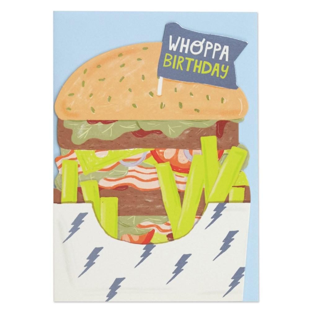 Whoppa Birthday Card