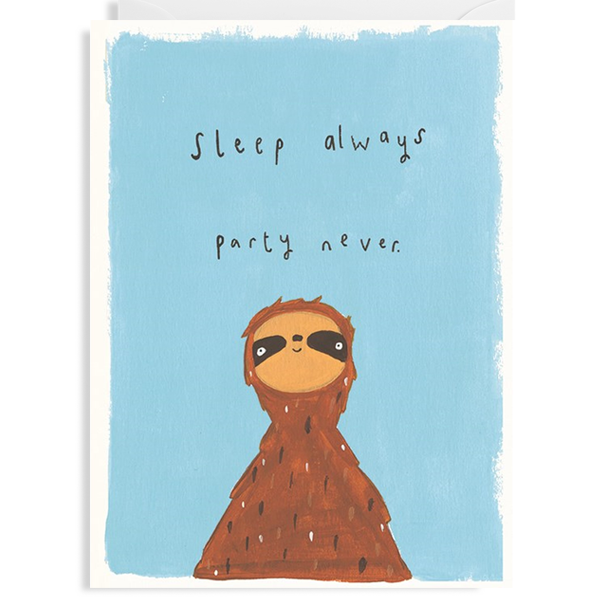 Sleep Always Card