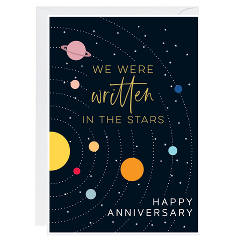 Written In The Stars Card