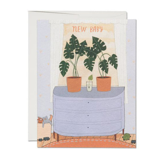 Stationery - Nursery Plants Card