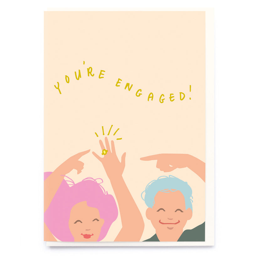 You're Engaged! Card