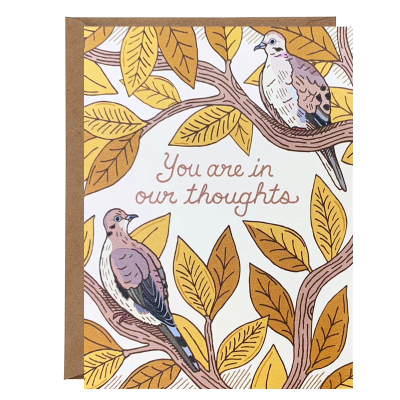 In Our Thoughts Card