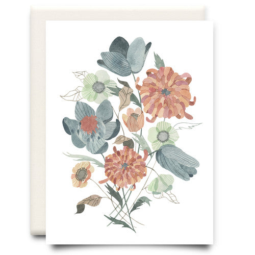 Anemone Bouquet Card