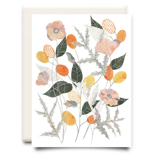 Poppy Bouquet Card