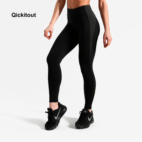 2018 Summer Patchwork Leggings Women Summer Pants High Waist Leggings Fitness Exercise Long Pants Sexy Leggings