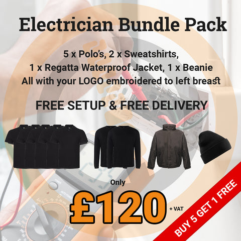 Electrical Embroidery Workwear Bundle