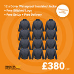 12 Regatta Dover Waterproof Insulated Jacket