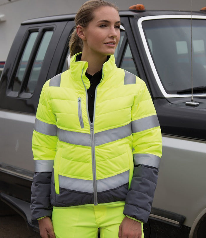Result Safe-Guard Ladies Soft Safety Jacket