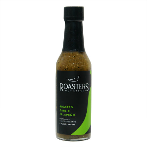 Roasters Hot Sauce Roasted Garlic Jalapeno - Lucifer's House of Heat