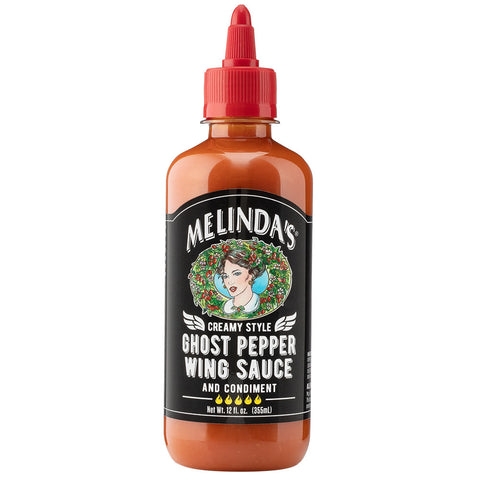 Melinda's Ghost Pepper Wing Sauce - Lucifer's House of Heat