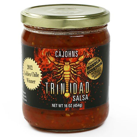 Trinidad Moruga Scorpion Salsa - Lucifer's House of Heat