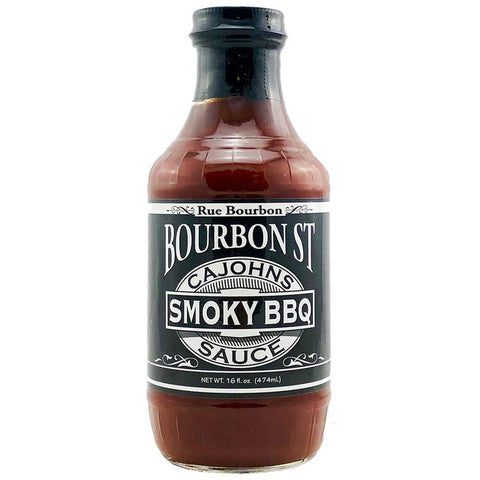 Cajohns Bourbon St Smoky BBQ Sauce - Lucifer's House of Heat