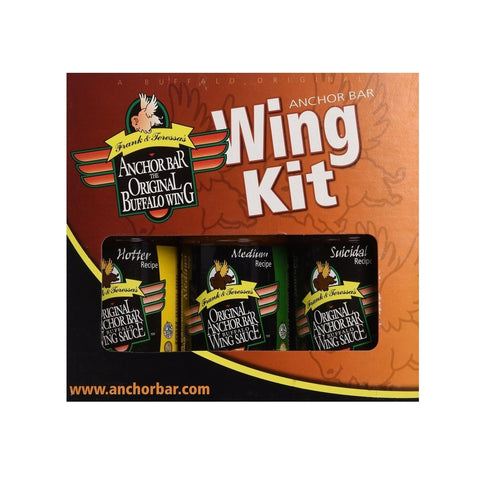Anchor Bar Wing Kit - Gift Pack - Lucifer's House of Heat