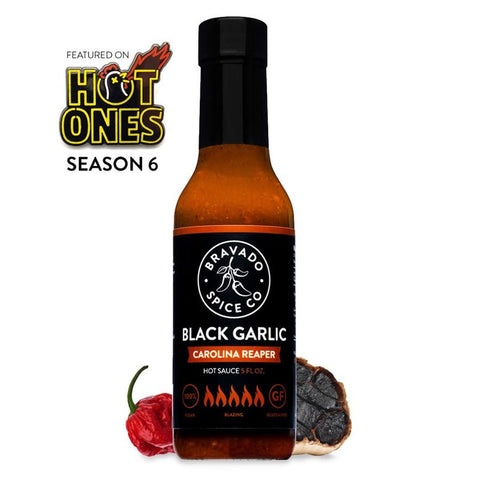 Bravado Black Garlic Carolina Reaper - Lucifer's House of Heat