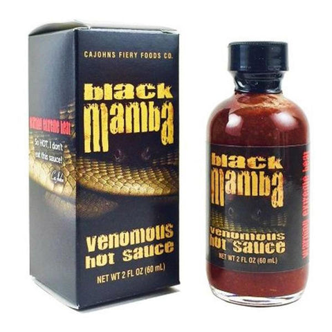 Black Mamba Extreme Venomous Hot Sauce - Lucifer's House of Heat