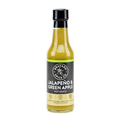 Jalapeño & Green Apple Hot Sauce - Lucifer's House of Heat
