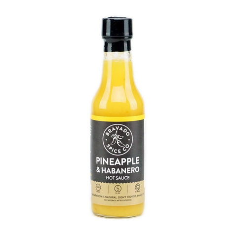 Bravado Spice Co. Pineapple & Habanero Hot Sauce - Lucifer's House of Heat