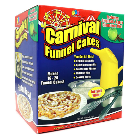 Carnival Funnel Cakes - Lucifer's House of Heat
