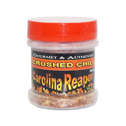 Carolina Reaper Pepper Flakes (Crushed) - Lucifer's House of Heat