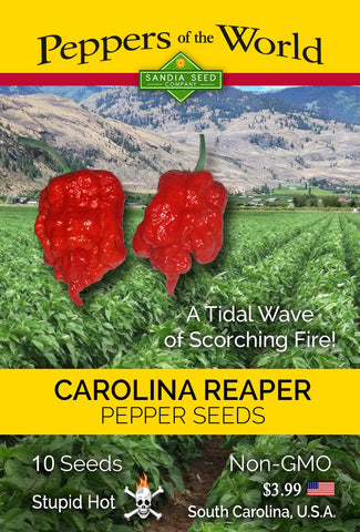Carolina Reaper Seeds - Lucifer's House of Heat