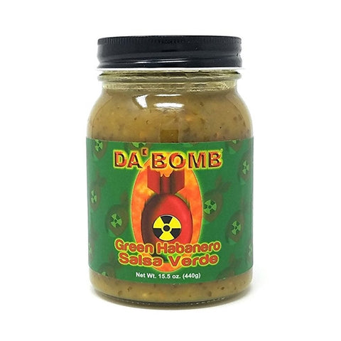 Da' Bomb Green Habanero Salsa Verde - Lucifer's House of Heat
