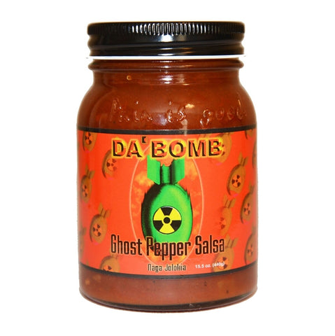 Da Bomb Ghost Pepper Salsa - Lucifer's House of Heat