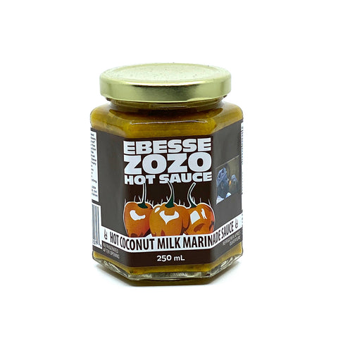 Ebesse ZOZO HOT Coconut Milk Marinade - Lucifer's House of Heat