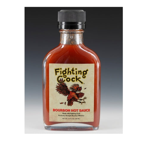 Fighting Cock Bourbon Hot Sauce - Lucifer's House of Heat