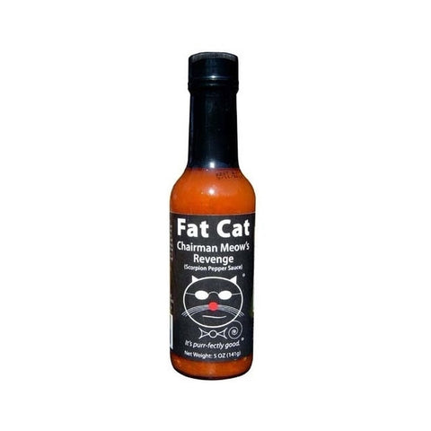 Fat Cat Chairman Meow's Revenge Scorpion Pepper Hot Sauce - Lucifer's House of Heat