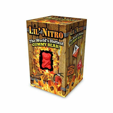 Lil' Nitro: The World's Hottest Gummy Bear - Lucifer's House of Heat