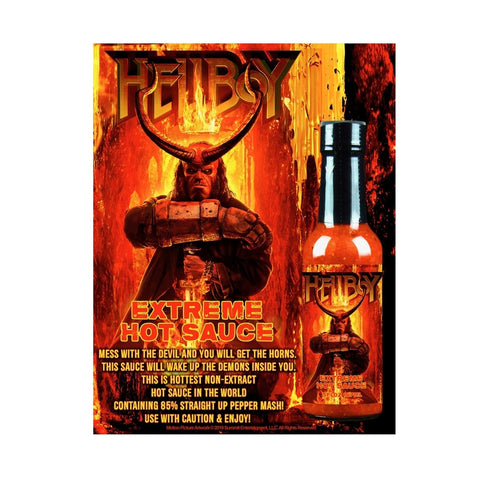 Hellboy Extreme Hot Sauce - Lucifer's House of Heat