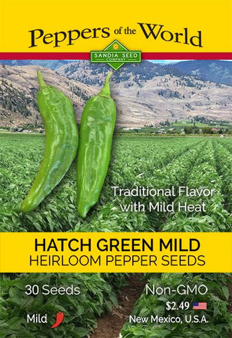 Hatch Green Mild - NM 6-4 Chile Seeds - Lucifer's House of Heat