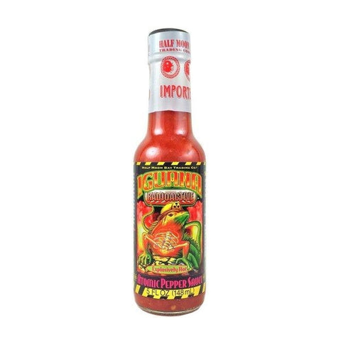 Iguana Radioactive Atomic Pepper Hot Sauce - Lucifer's House of Heat