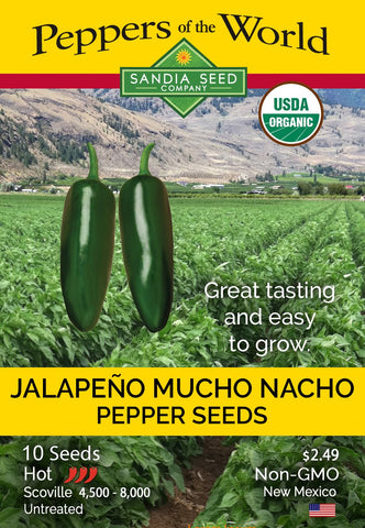 Jalapeño Mucho Nacho Seeds - Lucifer's House of Heat