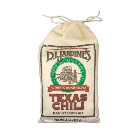 Jardine's Texas Chili Bag O' Fixins Kit - Lucifer's House of Heat