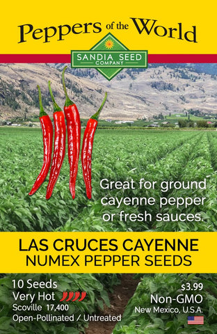 Cayenne - Las Cruces NuMex Seeds - Lucifer's House of Heat