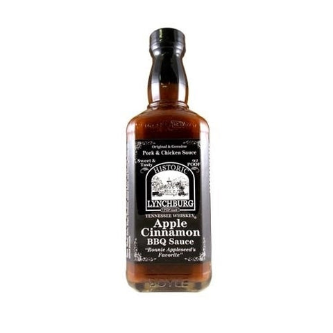 Lynchburg Tennessee Whiskey Apple Cinnamon Barbecue Sauce - Lucifer's House of Heat