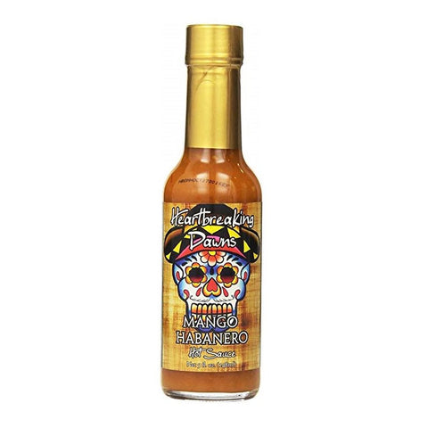 Heartbreaking Dawns Mango Habanero Hot Sauce - Lucifer's House of Heat