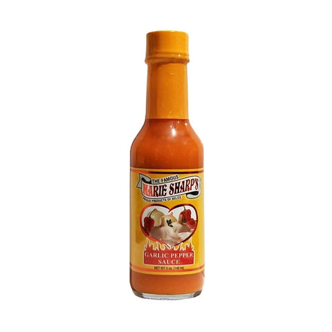 Marie Sharp's Garlic Habanero Pepper Sauce (5oz) - Lucifer's House of Heat