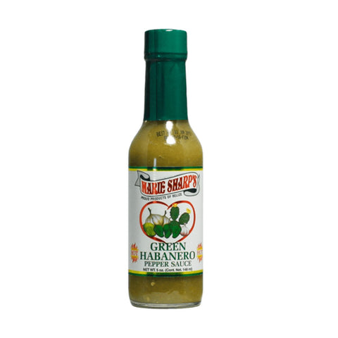Marie Sharp's Green Habanero Nopal Prickly Pear Cactus Pepper Sauce  (5oz) - Lucifer's House of Heat