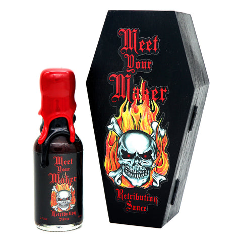 Meet Your Maker Retribution Sauce (EXTRACT) - Lucifer's House of Heat