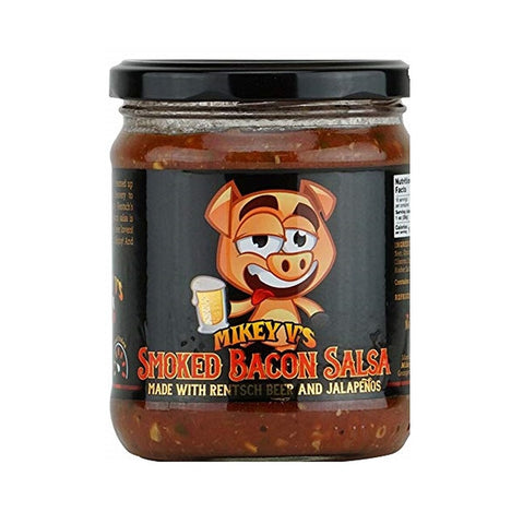Smoked Bacon Salsa - Lucifer's House of Heat