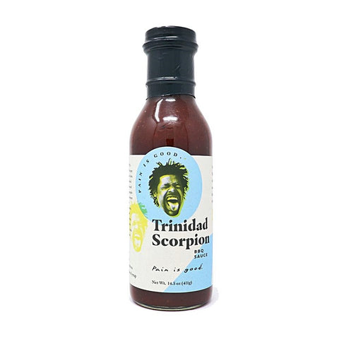Pain is Good Trinidad Scorpion BBQ Sauce (14.5 oz) - Lucifer's House of Heat