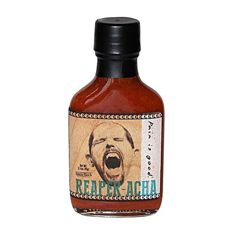 Pain is Good Reaper-Acha Hot Sauce - Lucifer's House of Heat