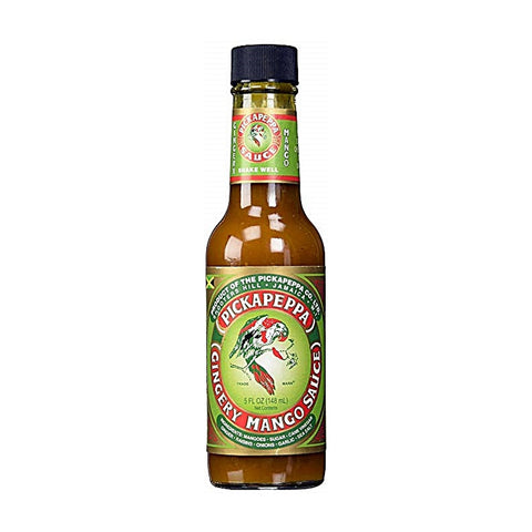 Pickapeppa Gingery Mango Hot Sauce - Lucifer's House of Heat