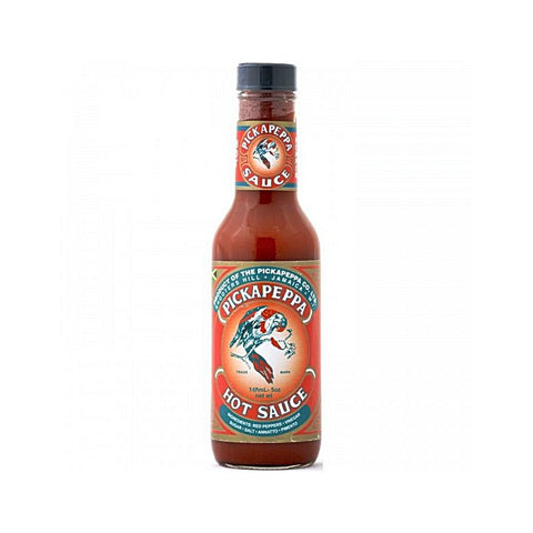 Pickapeppa Hot Red Pepper Sauce - Lucifer's House of Heat