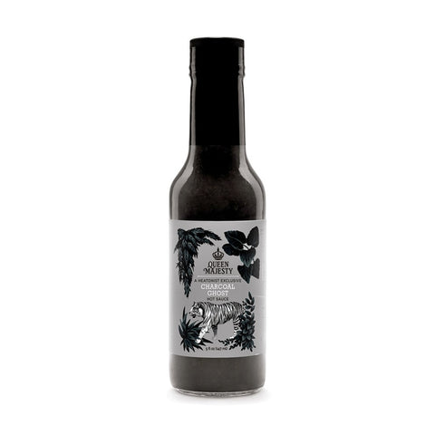 Queen Majesty Charcoal Ghost Hot Sauce - Lucifer's House of Heat