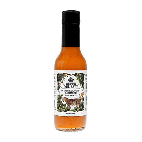Queen Majesty Scotch Bonnet & Ginger Hot Sauce - Lucifer's House of Heat